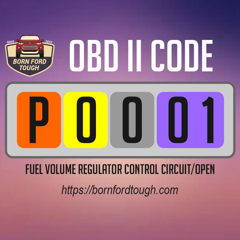 Kode OBDII P0001